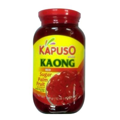 Kapuso Kaong Red Sugar Palm Fruit In Syrup