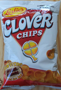 Leslies Clover Chips Barbecue Flavored Corn Snack