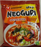NeoGuri Spicy Seafood Flavored Udon Type Noodles