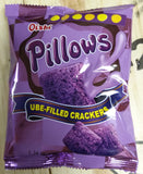 Oishi Pillows Ube Filled Crackers Snack Size