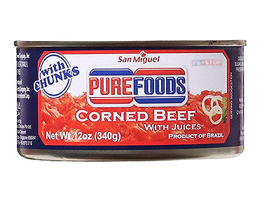 San Miguel Pure Foods Corned Beef With Juices