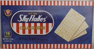 MY San SkyFlakes Crackers Plain 18 Packs
