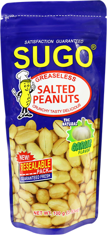 Sugo Salted Peanuts Greaseless
