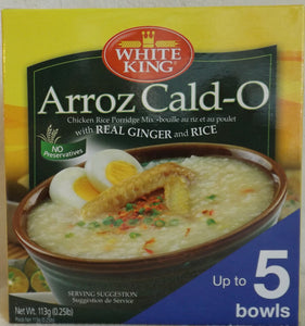 White King Arroz Cald O Chicken Rice Porridge Mix