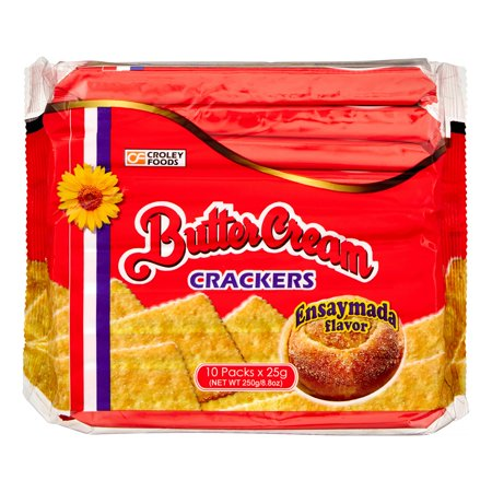 Sunflower Butter Cream Crackers Ensaymada Flavor
