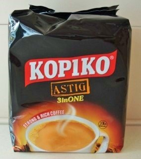 Kopiko Astig 3 in 1 Strong and Rich Coffee