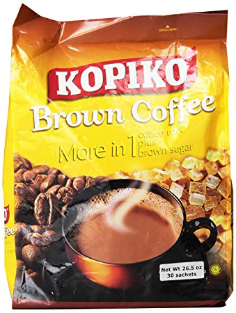 Kopiko Brown Coffee More in 1 Coffee Mix Plus Brown Sugar