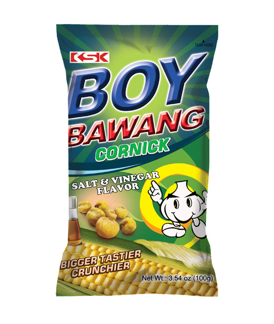 Boy Bawang Cornick Salt & Vinegar Flavor Snacks