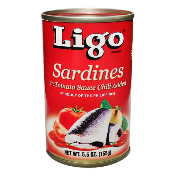 Ligo Sardines In Tomato Sauce With Chili