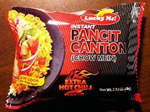 Sale - Lucky Me! Pancit Canton Instant Noodles with Hot Chili Flavor