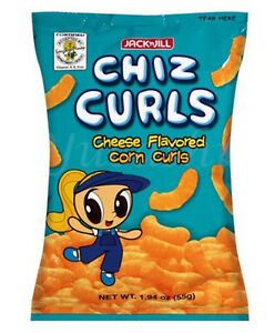 Jack N Jill Chiz Curls Cheese Flavored Corn Curls