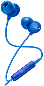 Philips UpBeat SHE2405 Earphone Wired Headset With Mic (Blue, In-Ear)