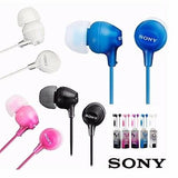 Sony MDR-EX15AP Wired Headset Handsfree Earphone (High Bass, In-Ear, Blue)