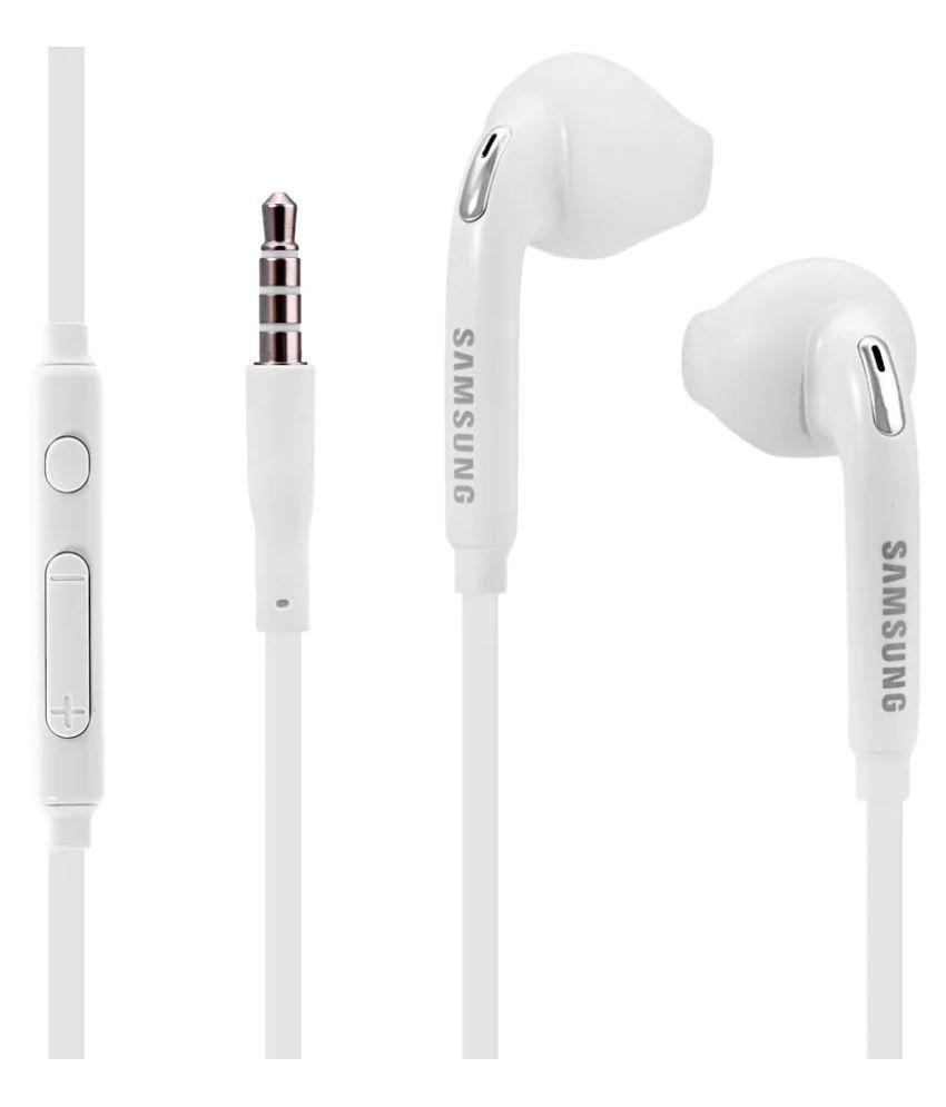 Samsung Earphone EG920 For Galaxy C9 Pro (High Bass , In-Ear ,White )