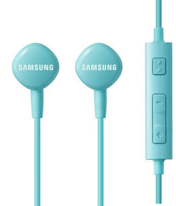 Samsung EO-HS130DLE Earphone Wired Headset With Mic Volume Control (Blue, In-Ear)