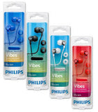 Philips SHE3555BK Earphone Wired Headset With Mic (Blue, In-Ear)