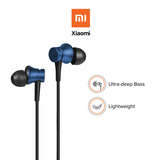 Redmi Basic Wired Headset Handsfree Earphone For Xiaomi 7 (High Bass , In-Built Mic, Wired In-Ear ,Blue)