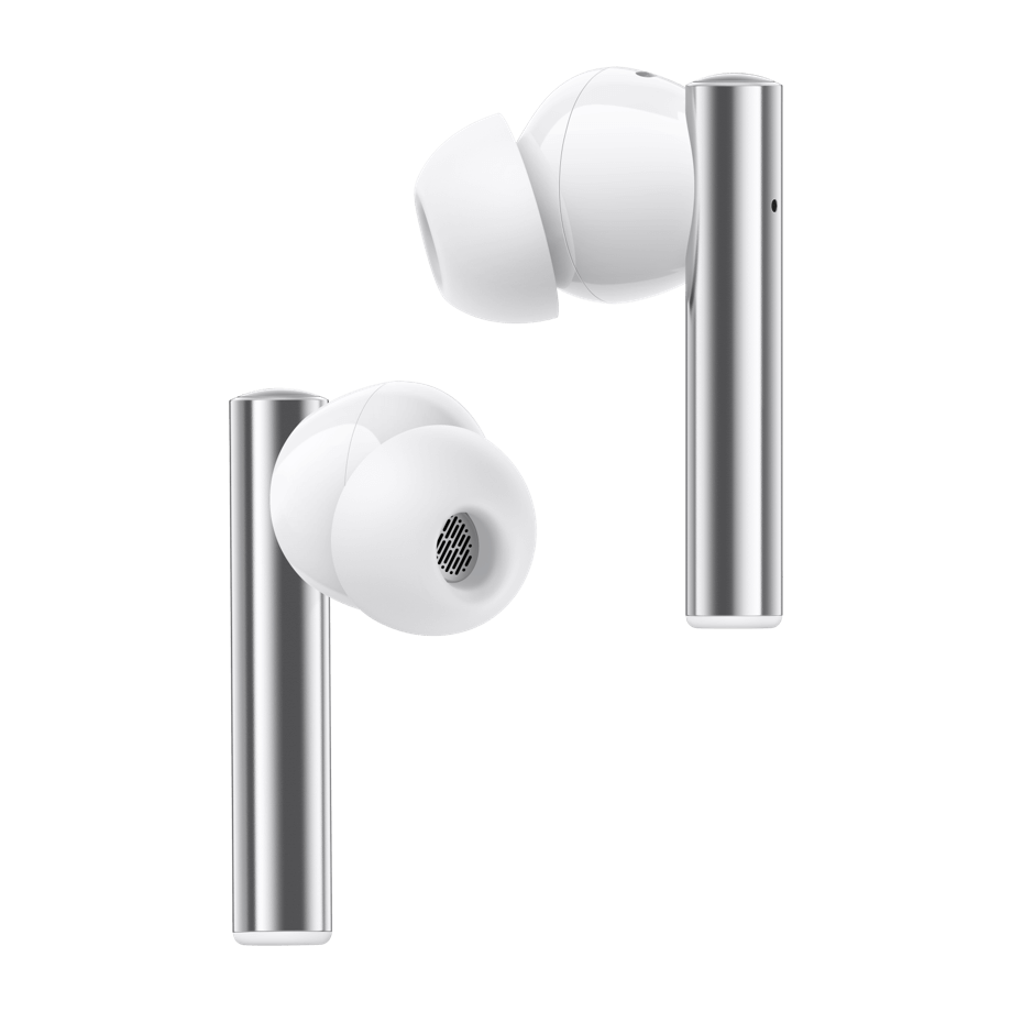 Realme Buds Air 2 with Active Noise Cancellation (ANC) Bluetooth Headset (Closer White, True Wireless)