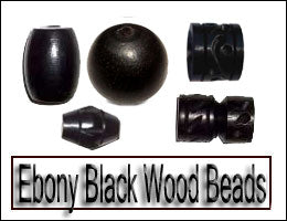 Ebony Black Wood