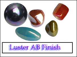 Luster AB Glass Beads