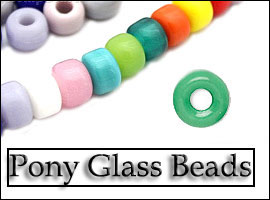 Pony Glass Beads