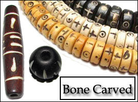 Bone Carved Beads