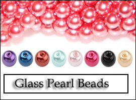 Glass Beads Pearl