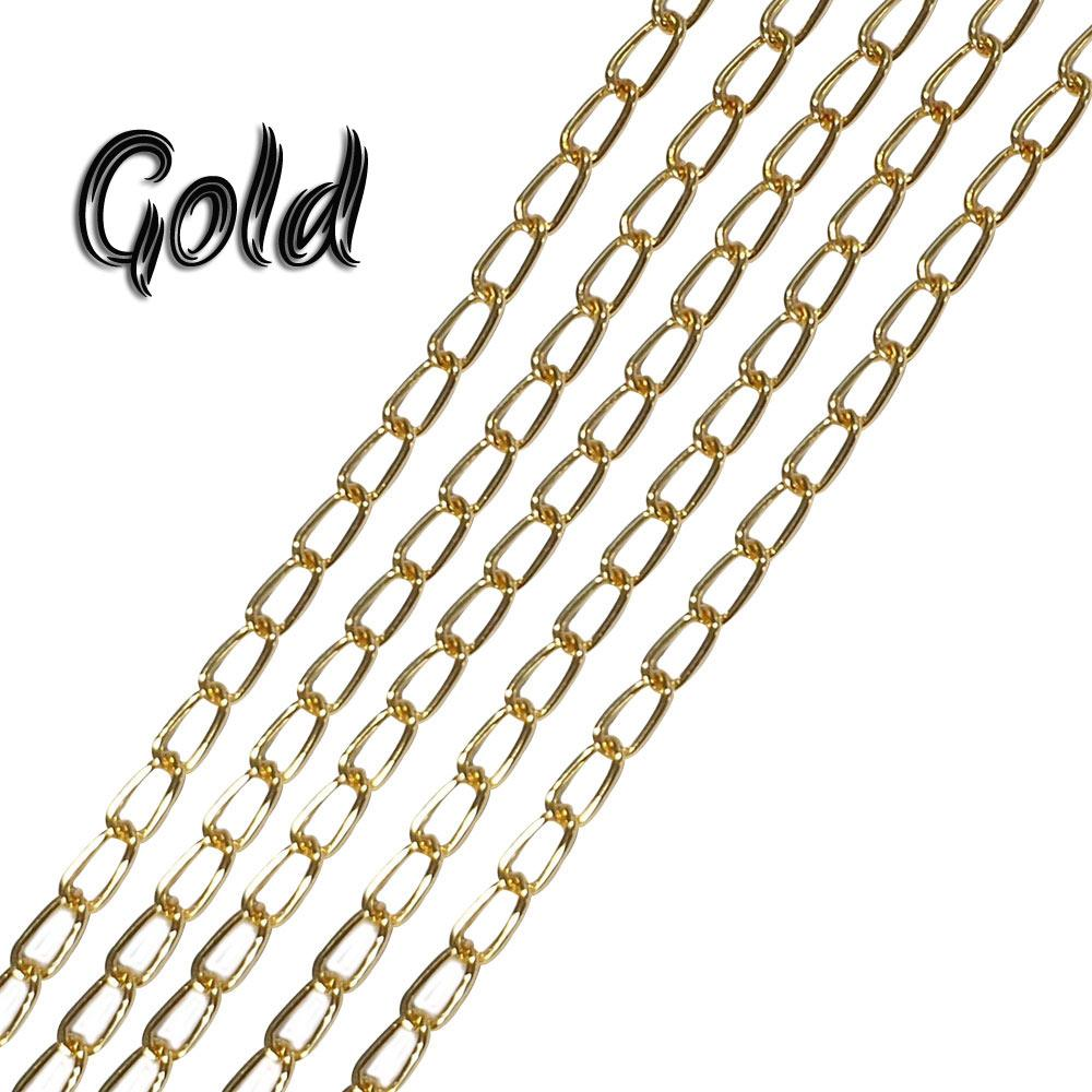 6x3-mm-gold-alloy-metal-plated-chains-sold-by-1 kg Pack
