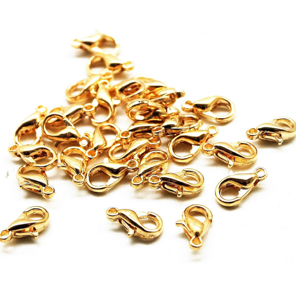 200 Pcs 12mm Size Outstanding savings on bulk lobster clasps! JPM Beads offers the best prices in the trade on these findings