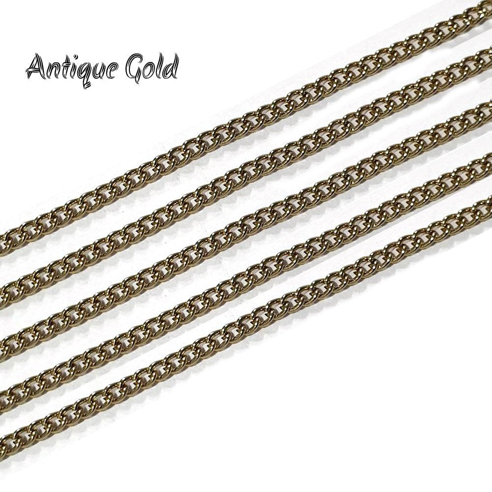 2-mm-antique-gold-metal-plated-chains-sold-by-1 kg Pack