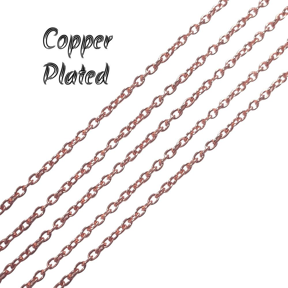 2-mm-copper-metal-plated-chains-sold-by-1 kg Pack