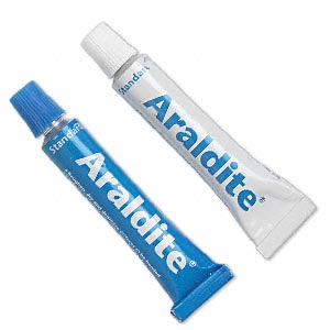 13 Gram Handi Pack, Araldite Epoxy adhesive, best for Jewellery stone setting and end cords fixed.