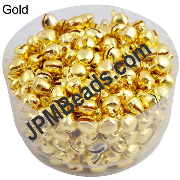 1000 Pcs 8mm ghungroo beads for Craft Jewellery Embroidery Making