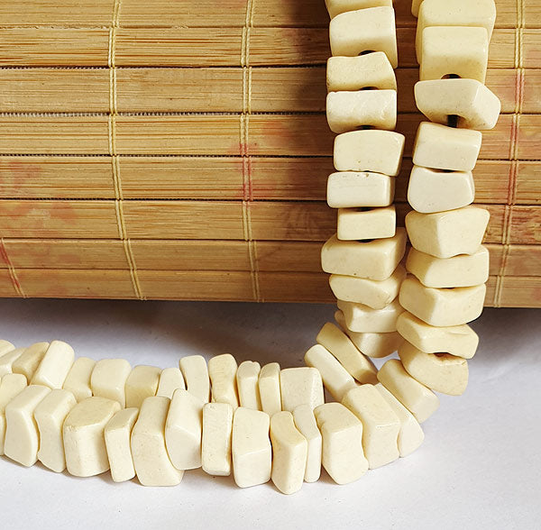 Bone Beads Basic Plain, Bone