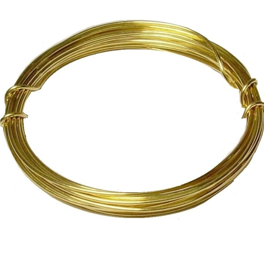 All Sizes Brass wholesale Wire in Coil Gold for Jewelry Making