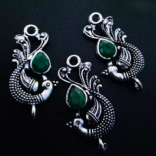 4 Pieces Package18x37 mm, Stone studded connectors, Can be also used as Earring Base, Sold by per piece