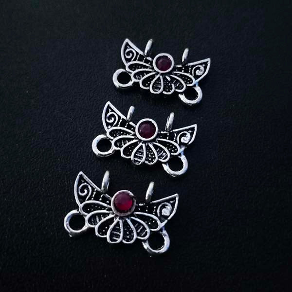 8 Pieces Package10x19 mm, Stone studded connectors, Can be also used as Earring Base, Sold by per piece