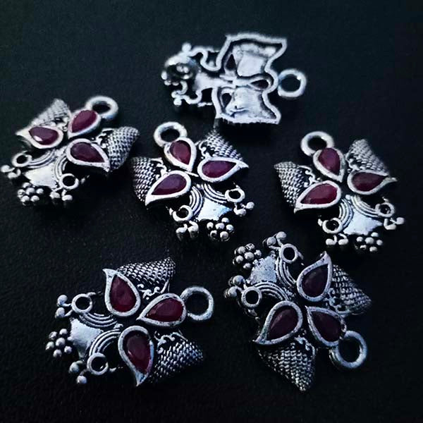 8 Pieces Package17x24 mm, Stone studded connectors, Can be also used as Earring Base, Sold by per piece
