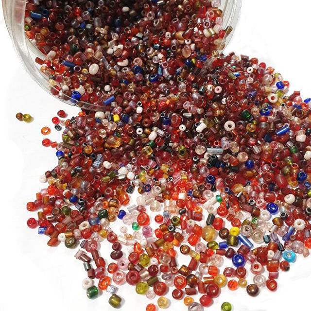 1 Kilo cheap Economy Glass Seed Seed Beads bulk Assorted Mix Beads