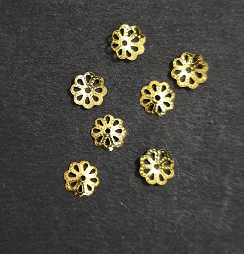 Gold Plated Cap Jewellery findings
