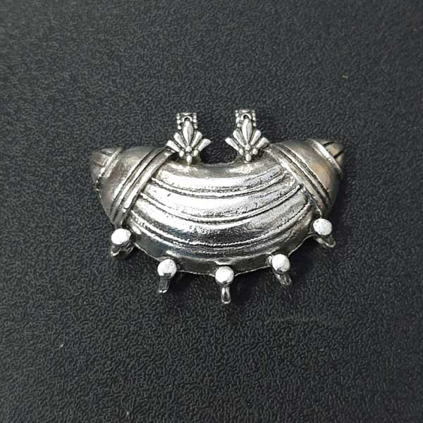 Per Kilo Pack Silver Oxidized Approx Size  42x32mm Zinc Alloy Tibetan German Silver Jewelry making Pendants Wholesale German Silver Pendants online at Guranteed low prices in india