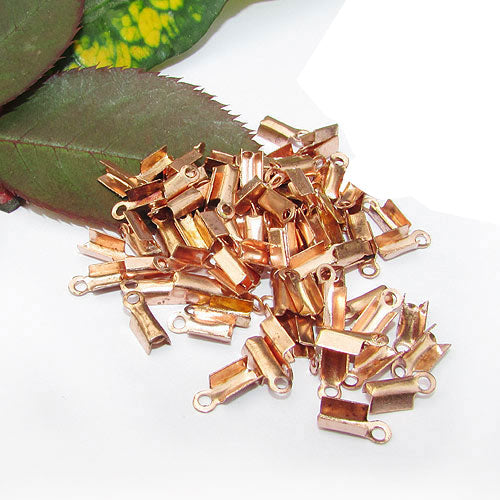 1000 Pcs copper PlatedFor 1mm Cord Thin Tips Cord end jewelry findings