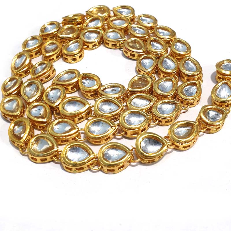 150 Pcs Pack Kundan Beads for Jewellery Making
