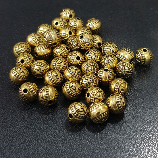 Per kilo Pack Oxidized Base Metal Beads Jewelry making finding raw materials