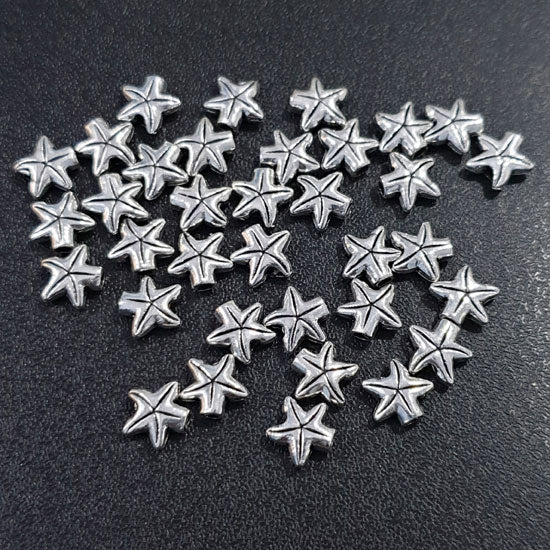 100 Pcs Pack Oxidized Base Metal Beads Jewelry making finding raw materials