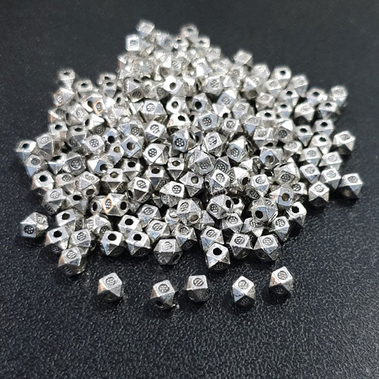 200 Pcs Pack Oxidized Base Metal Beads Jewelry making finding raw materials