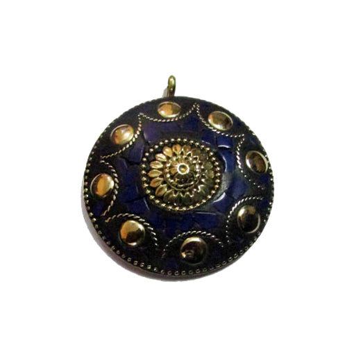 10 Pcs Napali Style Round Shape  Pendant 50~60mm Custome size also available