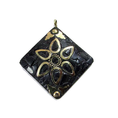 10 Pcs Napali Style Kite Square  Shape  Pendant 50~60mm Custome size also available