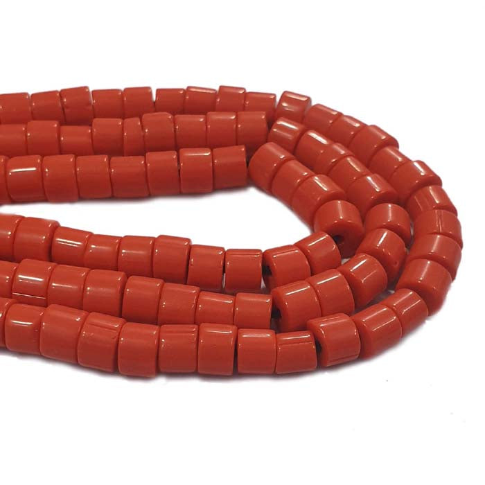 "8mm 10 Strands Pack Each 16"" Line Made In India and Nepal Tribal Vintage ethnic Beads for Jewelry Making Raw Materials Beads and Findings Find here huge selection in  Glass Beads at Wholesale price"