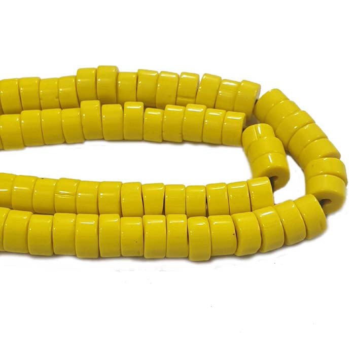 "10mm 10 Strands Pack Each 16"" Line Made In India and Nepal Tribal Vintage ethnic Beads for Jewelry Making Raw Materials Beads and Findings Find here huge selection in  Glass Beads at Wholesale price"